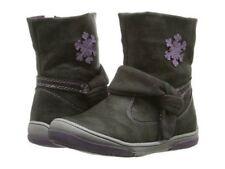 NIB Girls Short Boots Beeko Jael ll Black toddler 4.5 5.5 EU 20 21