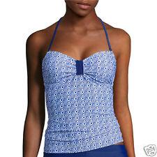 Arizona Tile Wave Bandeaukini Swim Top Juniors Size M, L, XL New Msrp $36.00