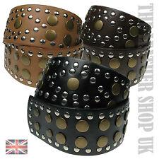 Ladies Fashion Studded Design High Quality Wide Dress Waist Belt wm09