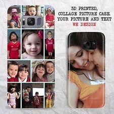 Custodia Cover Telefono Personalizzato iPhone 6S 7 Galaxy S7 S8 3D personalizzato stampato