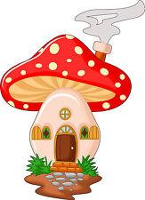 Adesivi murale bambino maison fungo ref 3568 (30 dimensioni)