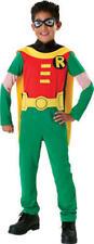 Robin Fancy Dress Batman Boys Superhero Kids Child Costume Outfit Ages 3-10