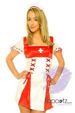 Tenue Infirmière Hôpital mesdames fancy dress costume S&M&L