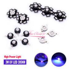 3W UV Purple LED Ultraviolet Bulbs Lamp 395nm High Power Light light-emitting