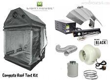 Roof Loft Tent kit 1.2m 2.4m LUMii 600w Light Ballast Grow Tent Room Hydroponics