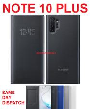 Original Samsung Led View Flip Case Galaxy NOTE 10+ Plus smart phone cover n975