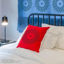 Mundi Circle Motif Wall STENCIL Furniture Craft Fabric DIY The Stencil Studio