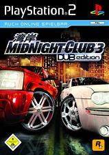Midnight CLUB 3 DUB EDITION (SONY PLAYSTATION 2, 2005, DVD-BOX)
