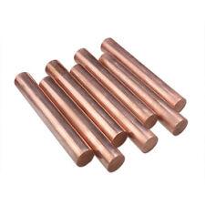 Diameter 6mm To 80mm T2 copper Round rod solid H59 brass Round rod L-100/200mm