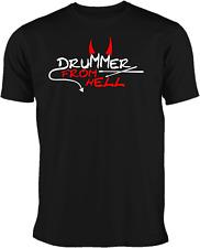 T-Shirt Drummer  Schlagzeuger  Motiv 3 in verschieden Farben