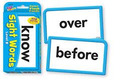 Trend Kids Childrens Sight Words Pocket Flash Cards (Level B) Teachers / parents