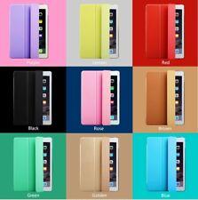 iPad 2 3 4 5 6 Air 1 2 Mini Pro  3 FOLD  Smart Case Cover with Tri-Fold Stand
