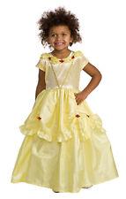 yellow Beauty Beast Belle princess girls costume S 2T 4