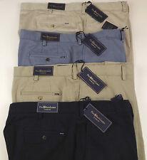 Polo Ralph Lauren Flat Front Classic Fit Cotton Twill Shorts $85 Blue Khaki  NWT