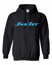SNO JET  Vintage Snowmobile Hooded Sweatshirt Sizes to 5X! CHOOSE COLOR SNOJET