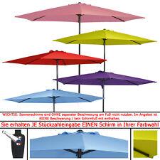 """SONNENSCHIRM 3m """"1-von-5"""" Alu Kurbelschirm Kurbel Marktschirm Schirm ~300cm"""