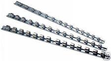 Individual Set Of Socket Rails 1/4 & 3/8  1/2 Drive  400mm Long (40cm)