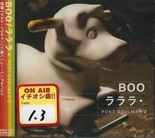BOO - LaLaLa post soulman 2 - Japan CD - NEW J-POP