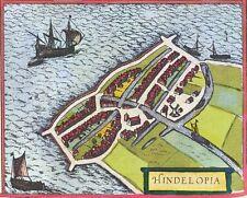 Reproduction plan ancien de Hindeloopen 1588