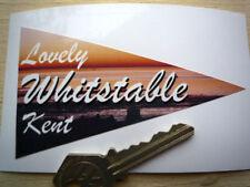 Whitstable classic car sticker fenêtre de vacances 60's