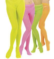 Neon Pantyhose Strumpfhose 70er 80er 40DEN Kostüm Accessoire 129231213
