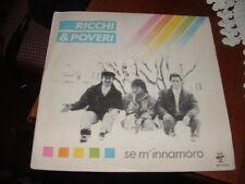 """RICCHI & POVERI """"SE M'INNAMORO-MAMI MAMI"""" ITALY'85"""