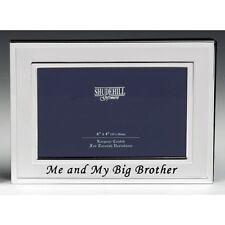 ME & My Big Brother Battesimo Regalo Nuovi Nati Cornice Foto Bambini Compleanno