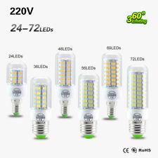 E27 E14 LED 5730 SMD 220V Lampe Birnen Glühbirne Warmweiß Kaltweiß