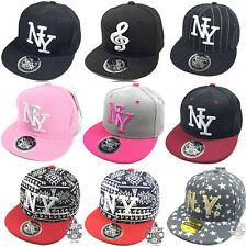 Kinder Cap Snapback Baseball Caps Kappe Baseball Basecap  Mütze NY Mädchen Junge