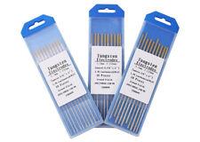 10X WC20 électrodes tungstène tungstène aiguilles aiguilles TIG gris 1.6mm-2.4mm