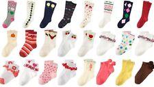 NWT Gymboree Girls Knee, Foldover & Pompom Sock 6 12 24 mos 2 3 4 5 6 7 8 9 10
