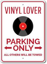 Vinyl Lover Sign, Record Collector Gift, Record Parking Sign ENSA1002911