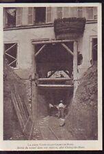 1900  --  METRO  SORTIE DE TUNNEL EN CONSTRUCTION  CHAMP DE MARS  S912