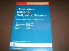 Werkstatthandbuch VW Golf II / Jetta II Keihin Vergaser