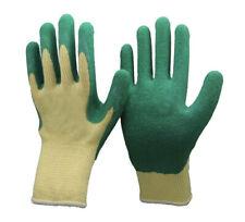 Arvello l998 Unisex Guanti da Lavoro Rivestimento Lattice Naturale Verde impugnatura di protezione