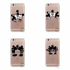 Disney Maus Cartoon Transparent Hard Case Schutzhülle für iPhone 5 5S 6 6S 6+ 7