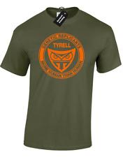 Tyrell genética replicante para hombre Camiseta Blade Runner Sci-Fi Película de Culto Retro