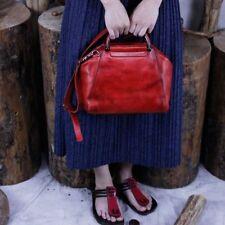 Women Shoulder Bag Personality First Layer Of Leather Retro Vintage Handbag