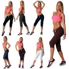 3/4 leggings Capri con sport-pantalón de algodón talla XXS XS S M L XL XXL 3xl 4xl