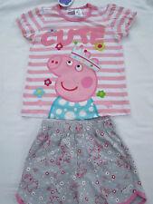 Girls  Peppa Pig Cute Pyjamas  Size 5 & 6    BNWT