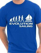 Évolution de la Voile Sports nautiques Cadeau T-Shirt Homme Taille S-XXL