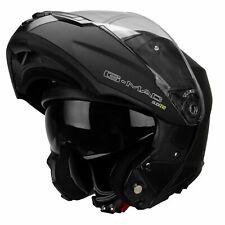 G-mac Glide Evo Modular Dvs Tapa Frontal Casco de la Motocicleta - Negro Mate