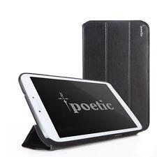 Samsung Galaxy Tab 3 8.0 Inch Cover Case Stand Folio- Poetic Slimline - Black