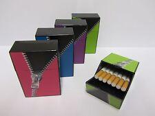 ☆ Zigarettenbox - ZIPPER 21 push/open - 21 Zigaretten (Zigarettenetui Etui Box)