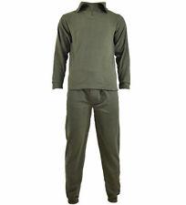 Mil-Tec Homme Set Sous-Vêtements Zip Polaire Thermique Vert OD tailles S – XXL