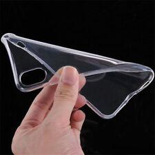 Silikon Handy Schutz Hülle Transparent Bumper Tasche Case Cover - Modellauswahl-