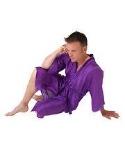 BNWT Mens Long Silk Mix Kimono / Dressing Gown / Robe!!