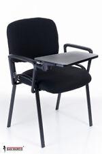 Sedie da ufficio con scrittoio ribaltabile per sala riunioni o conferenze