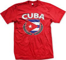Cuba Shield Crest Coat Of Arms Cuban Country Born Heritage CUB CU Men's T-Shirt