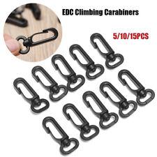 Mini Carabiner Clip Snap Spring Clasp Hook Keyring Camping Karabiner Tools